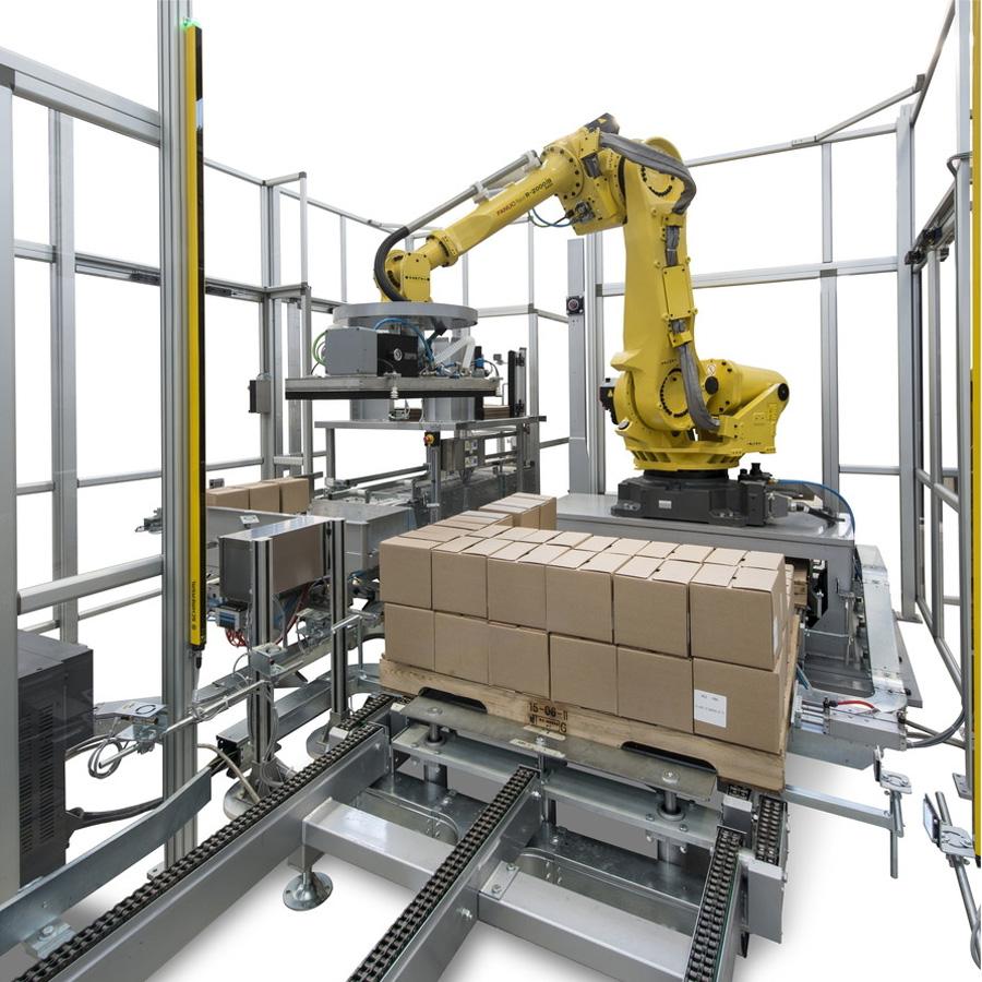 69010100機器人系列-碼垛工作站