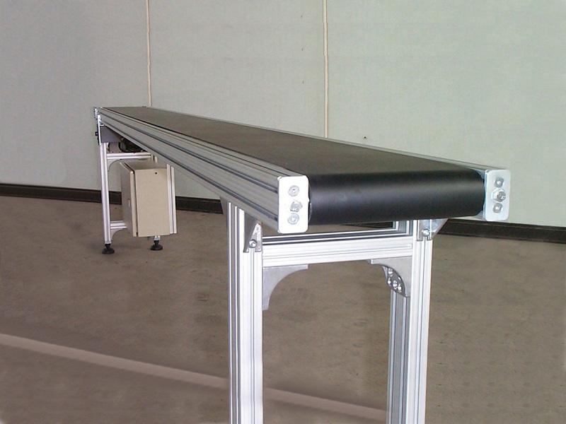 輸送線統一尺寸-皮帶鋁合金輸送機副本
