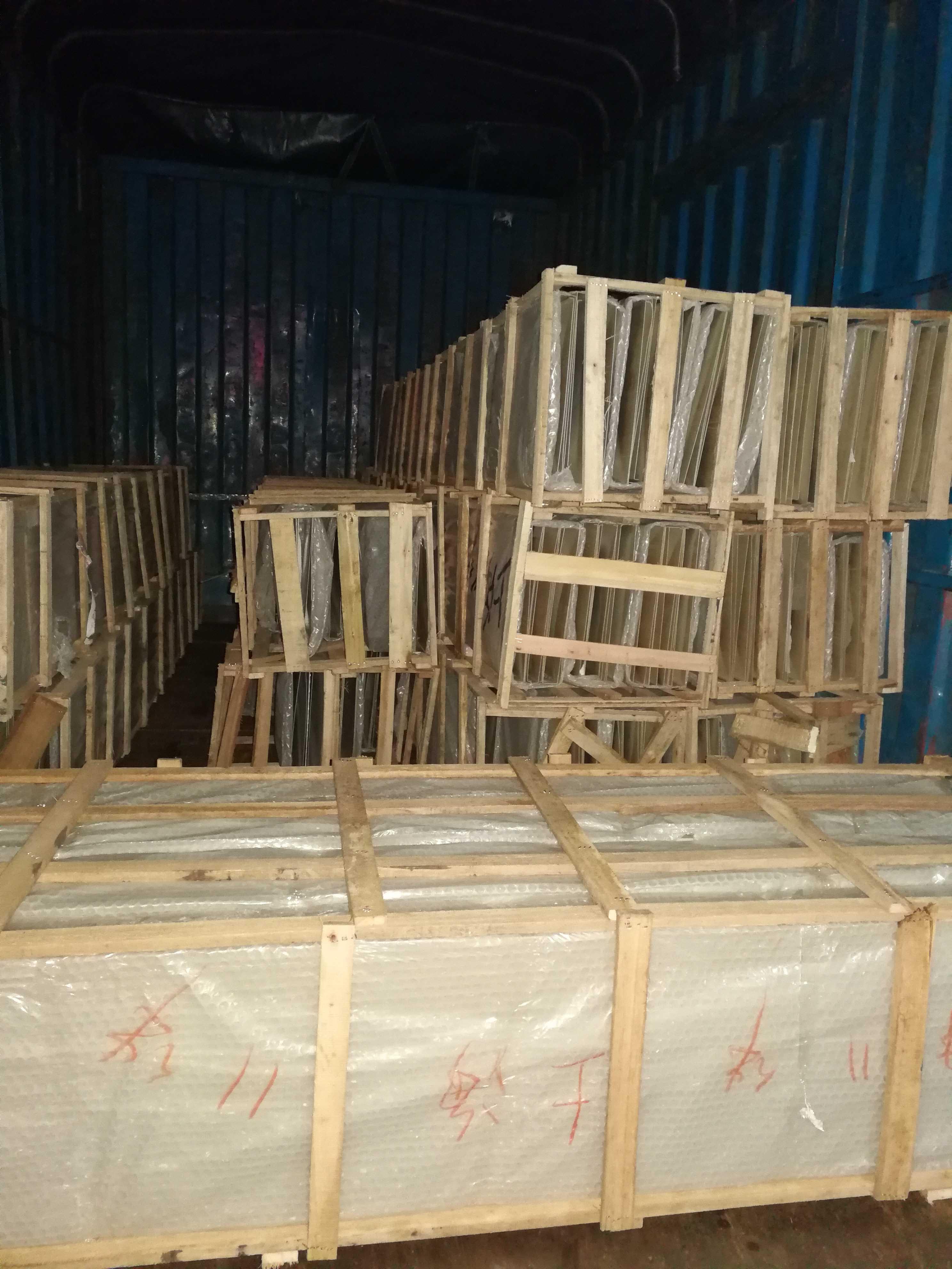 大件、大尺寸鋁材空運及木架包裝
