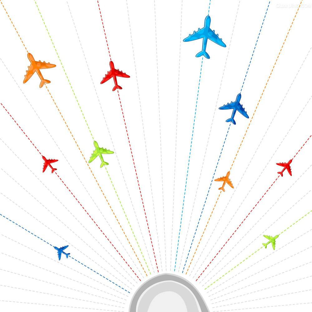 航空貨運網絡,空運線路