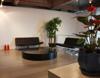 公司辦公室照片-前臺休息大廳