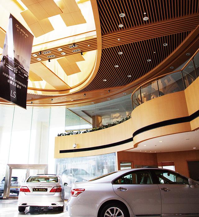 商業-上海汽車銷售4S店