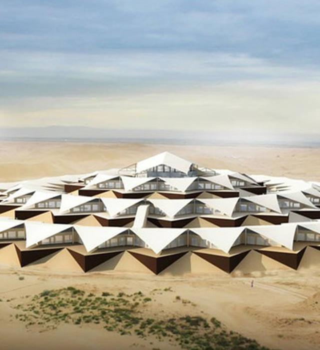 內蒙古沙漠蓮花酒店