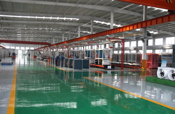 空調機組生產區1