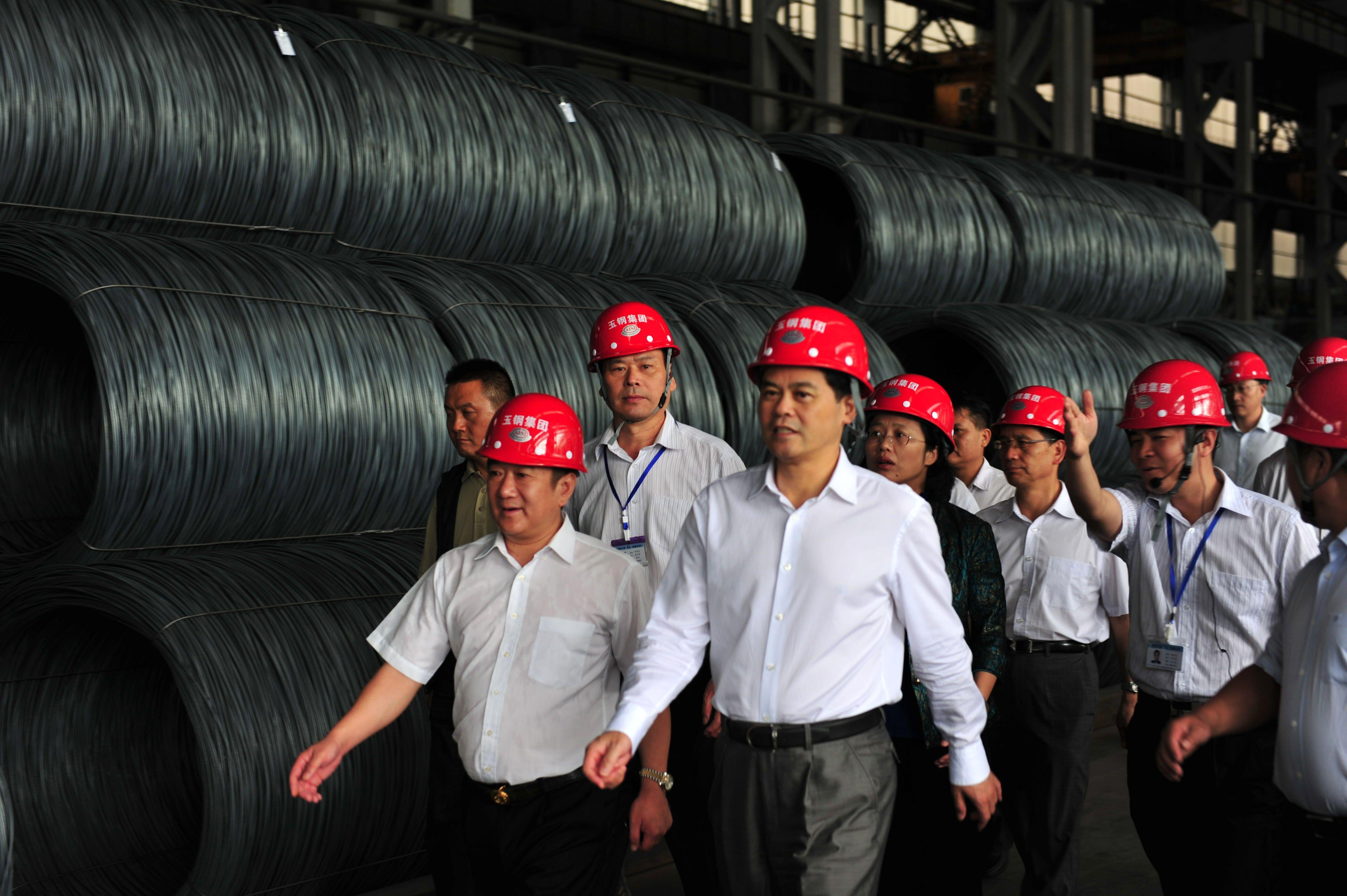 1云南省委書記,省人大常委會主任陳豪蒞臨公司指導工作。
