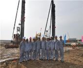 越南沿海三期電廠軟基處理項目