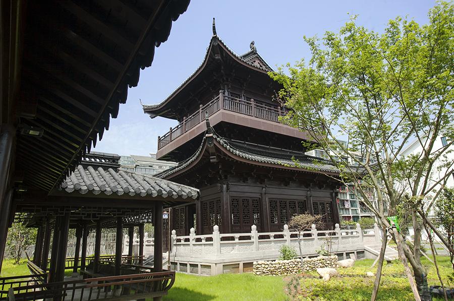 钟山寺景观