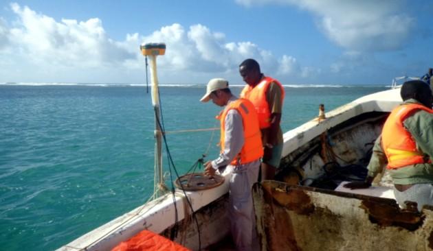 非洲索马里海洋测绘