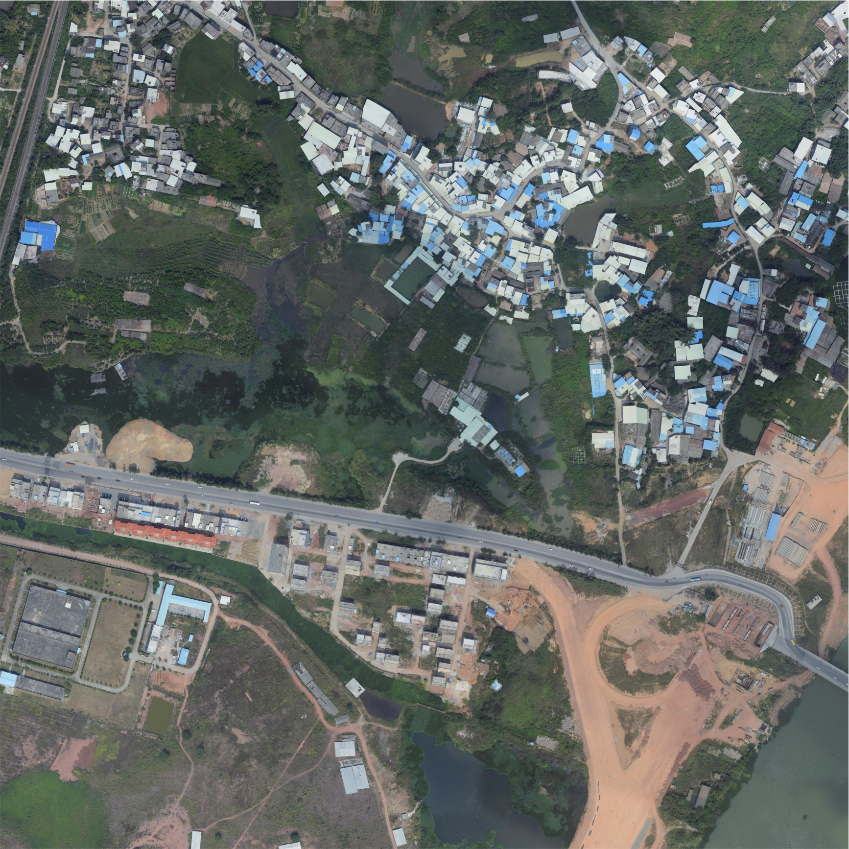 河源市高新区航空摄影测量