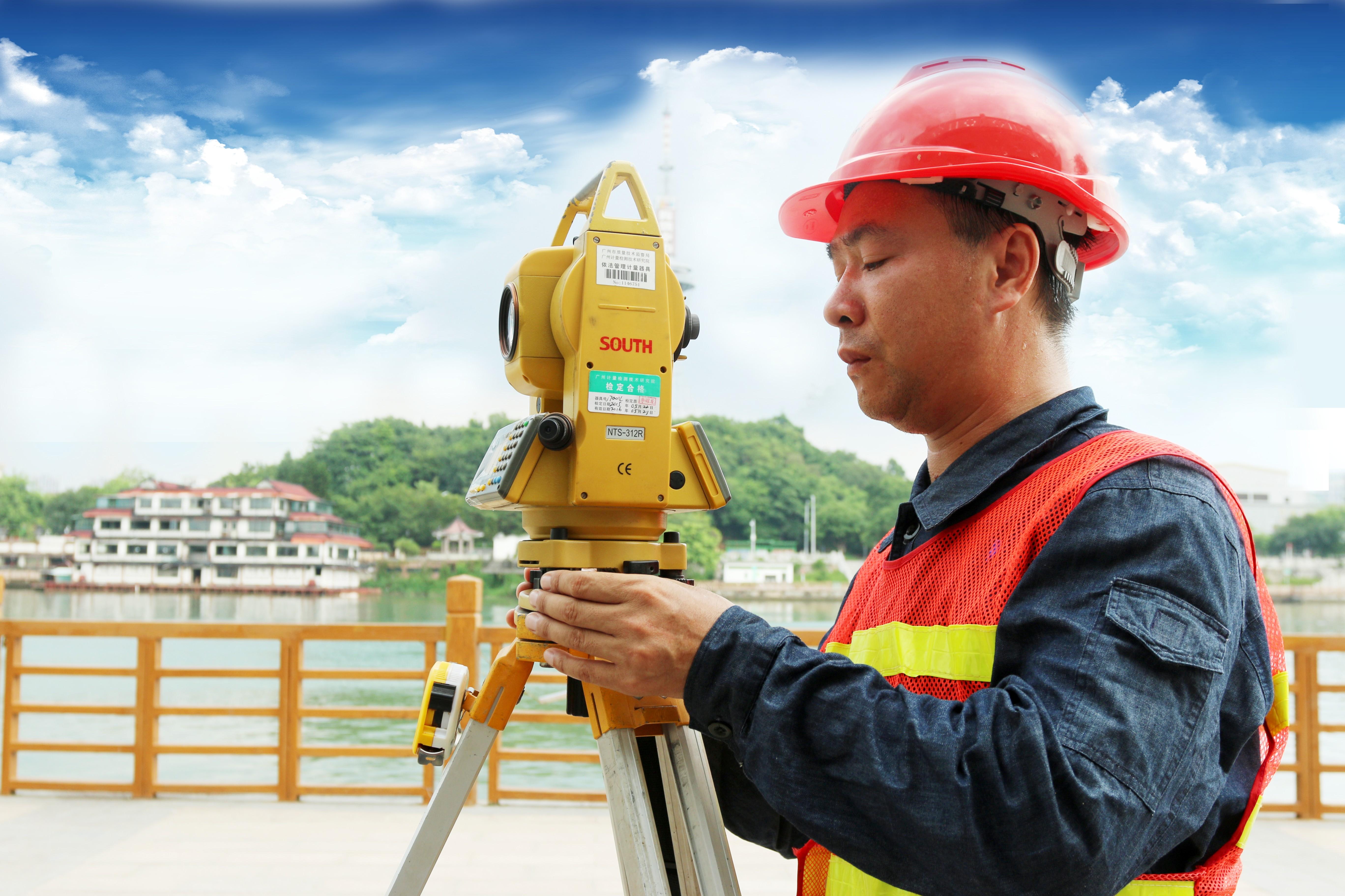 新丰江亲水步道地形测量