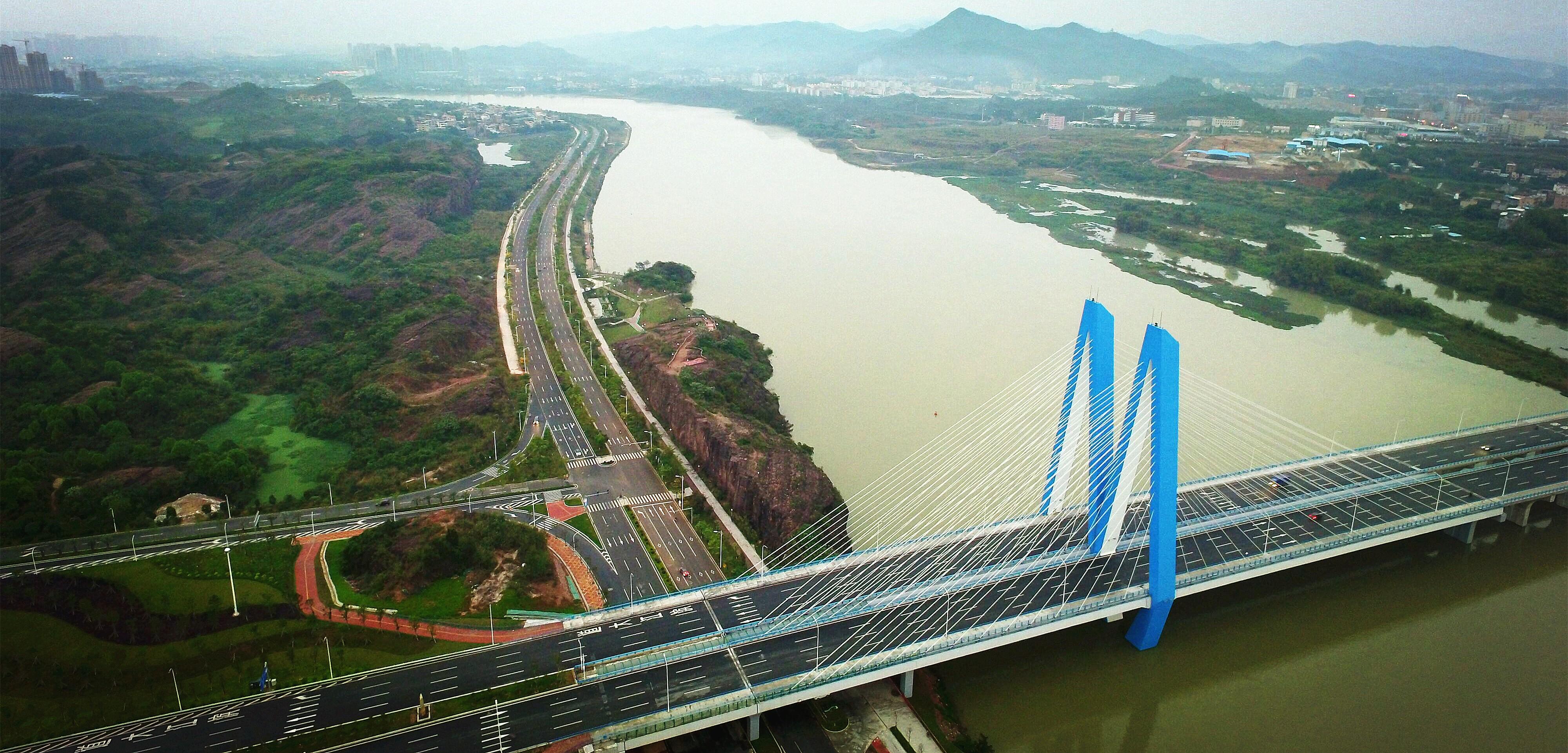 河源市迎客大桥基桩检测