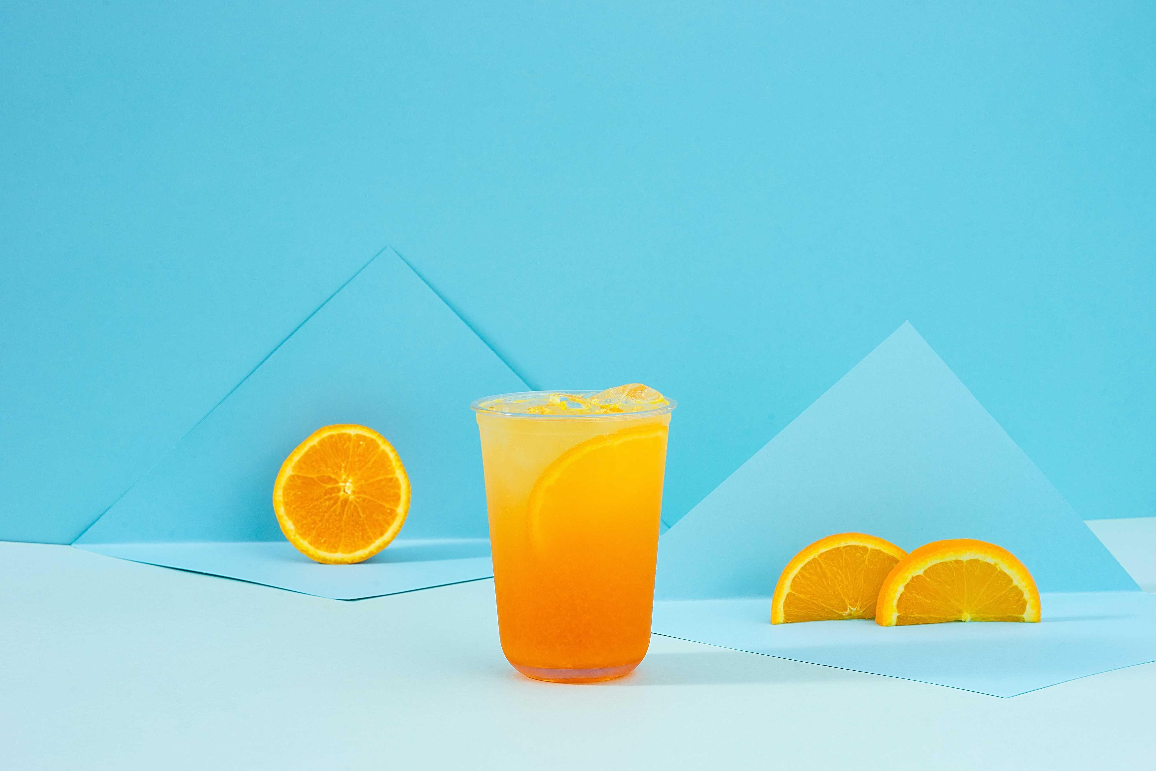 泡泡石榴橙