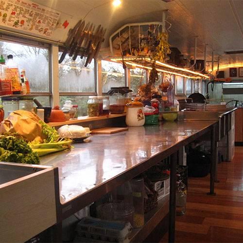 可移动厨房餐厅