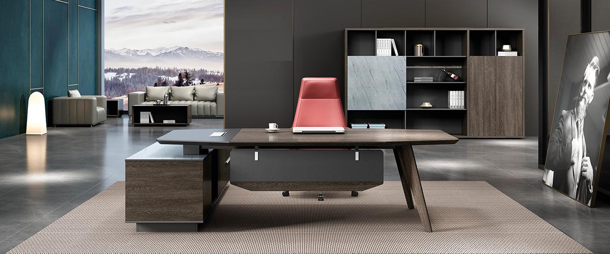 班台-老板桌高管办公桌