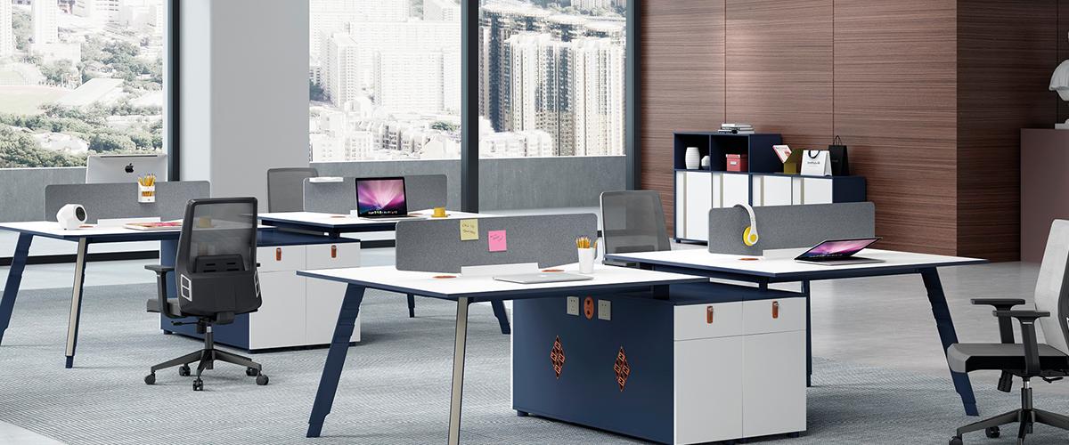 办公桌-屏风办公桌