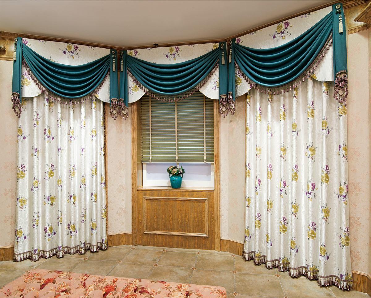 布艺窗帘2