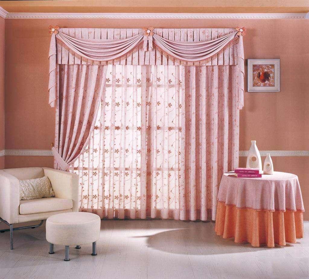 布艺窗帘1