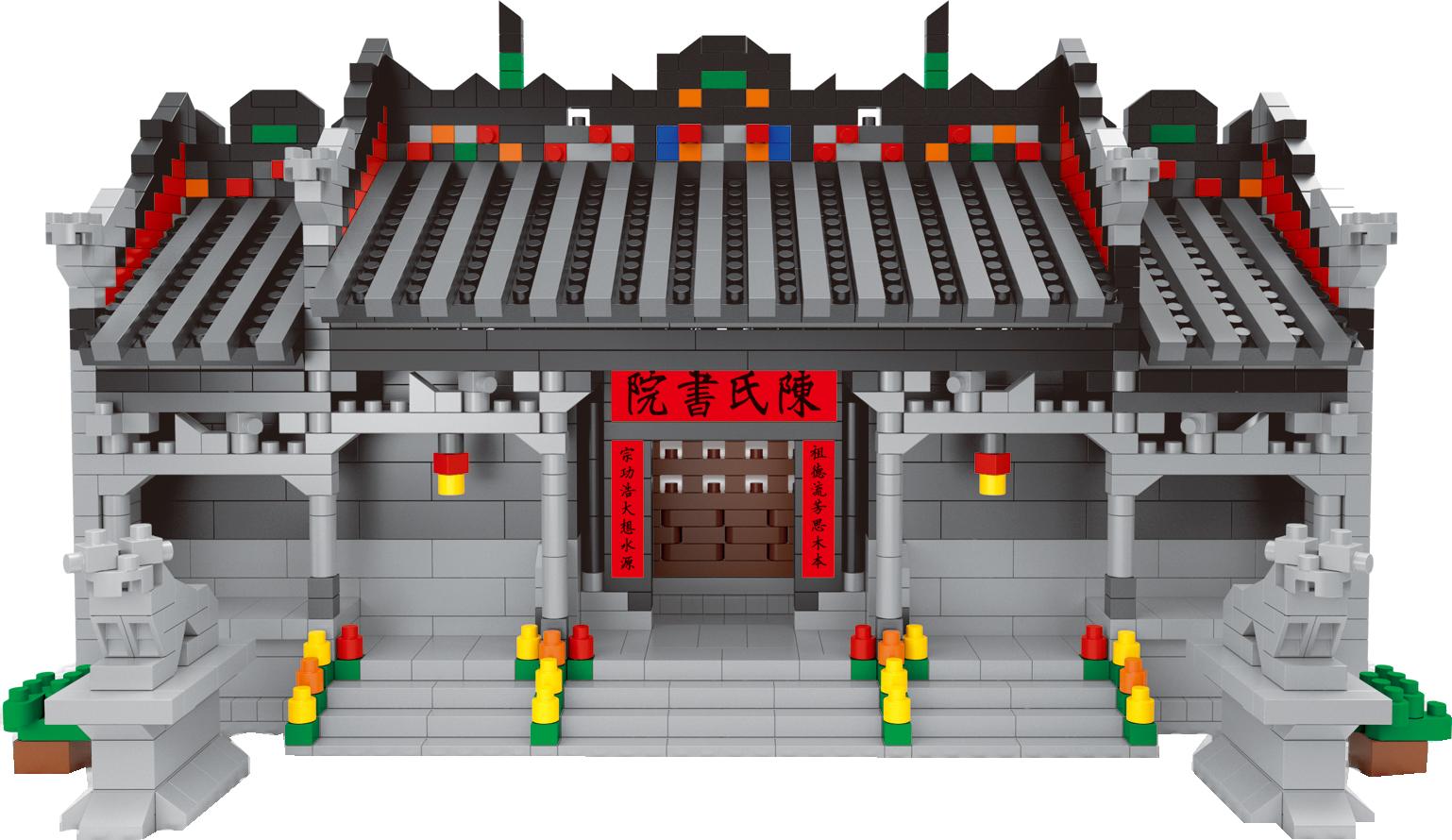 摳圖陳家祠2