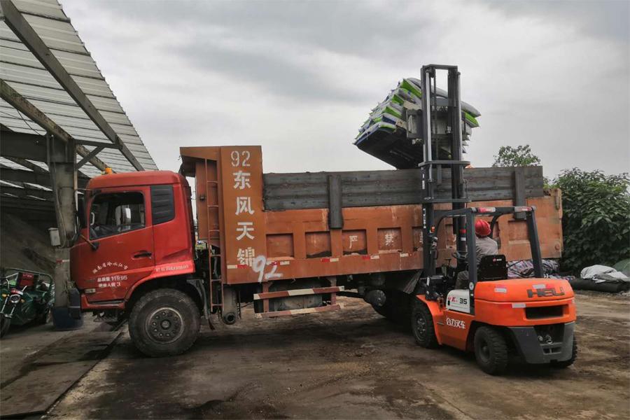 發酵腐熟有機料發貨運輸