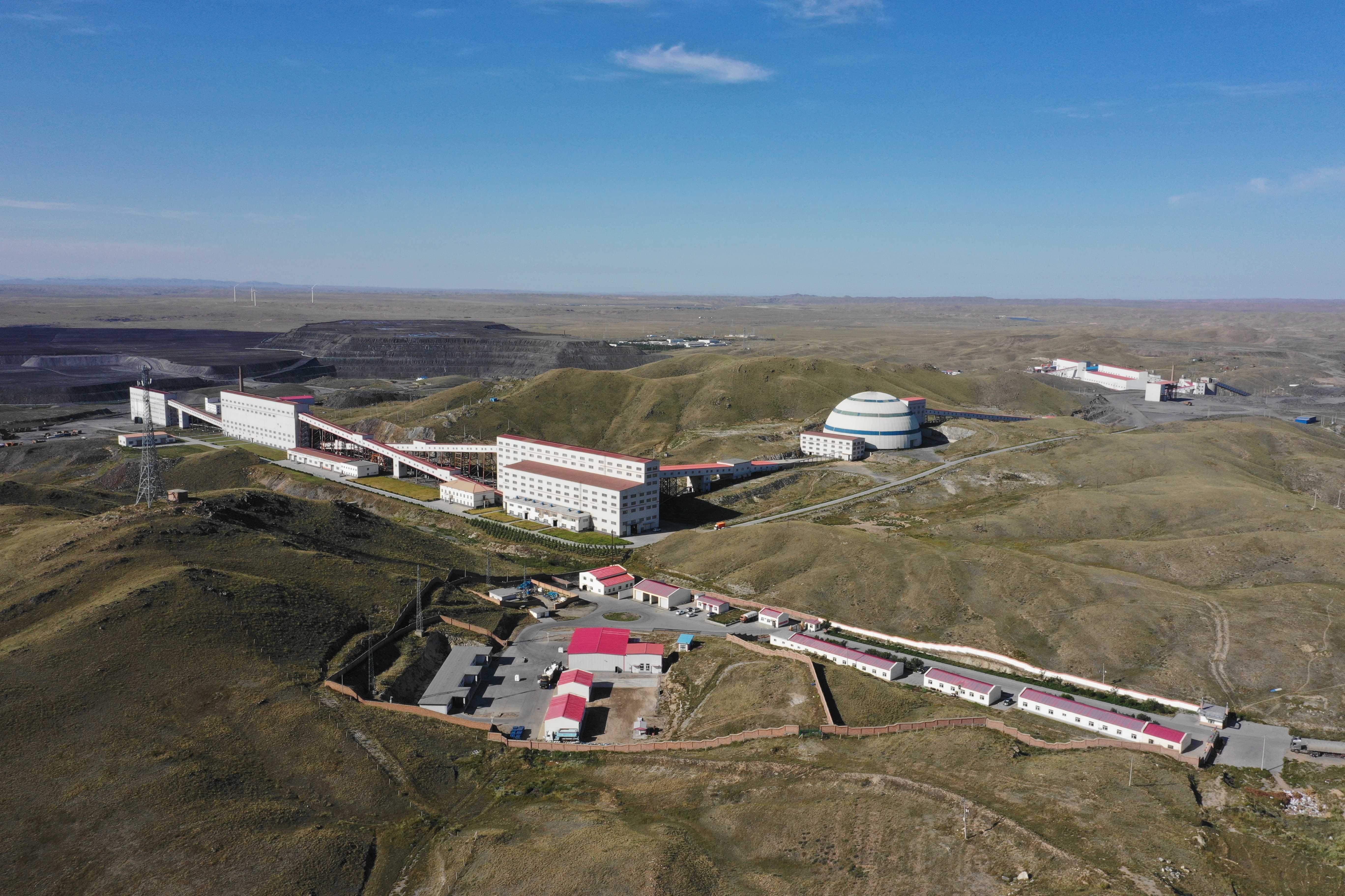 選冶廠全景