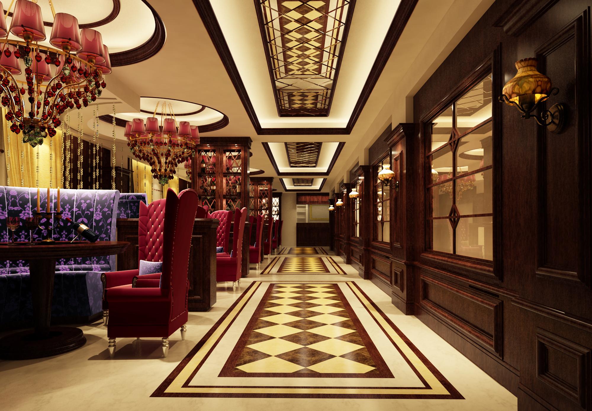 设计类-上海婚礼中心-1F宴会厅2
