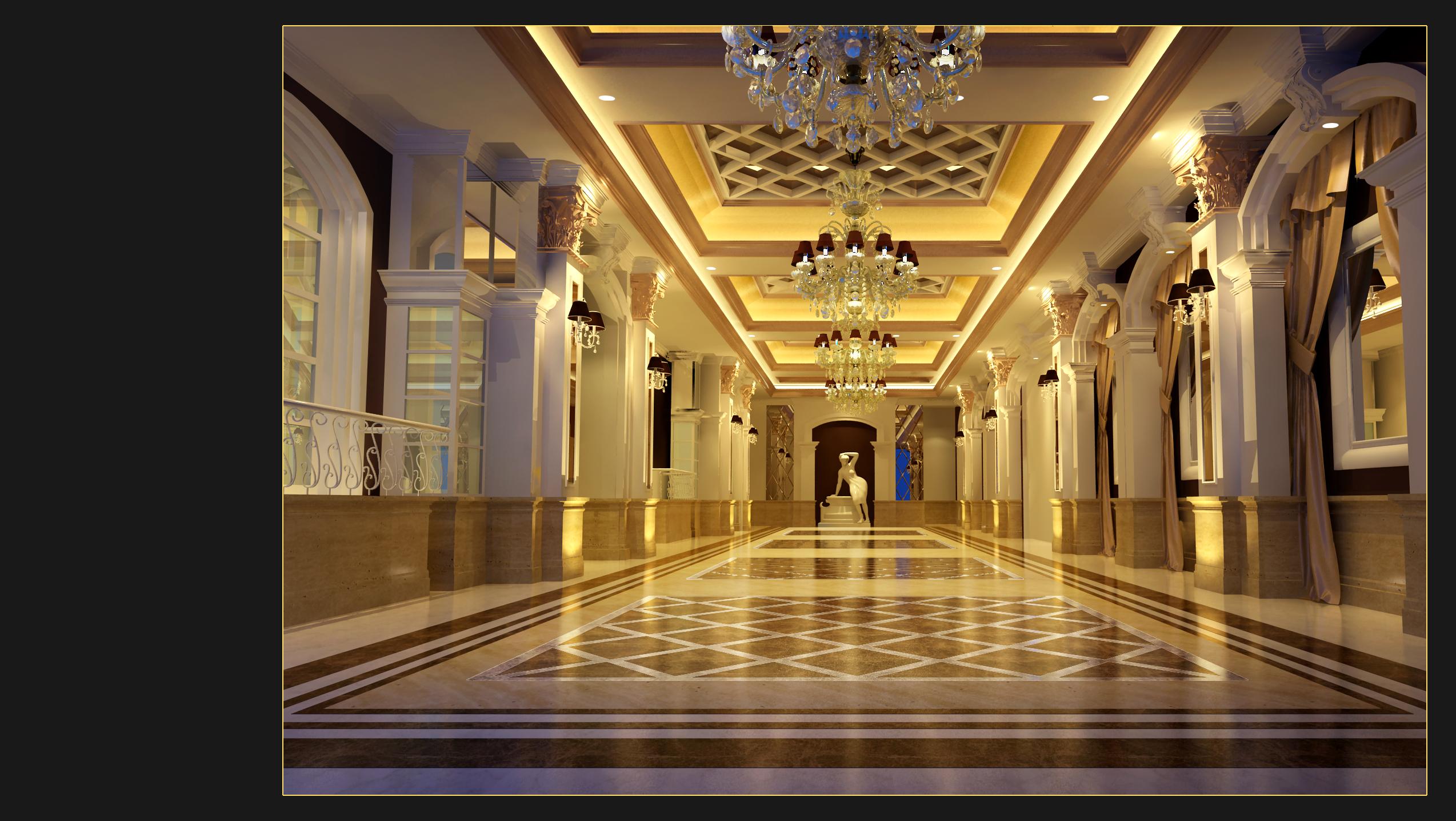 设计类-上海婚礼中心-3楼前厅