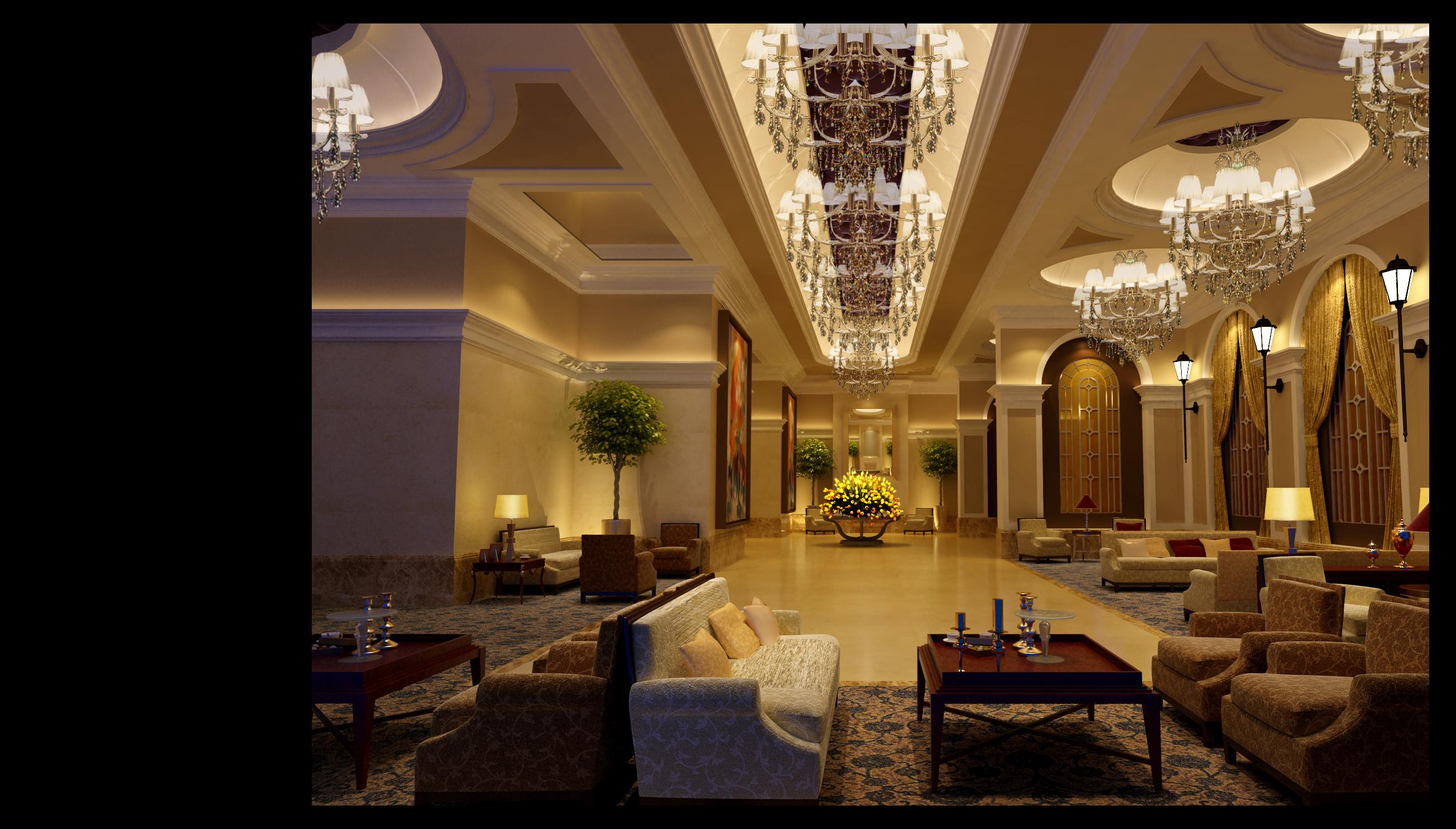 设计类-上海婚礼中心-5F接待厅