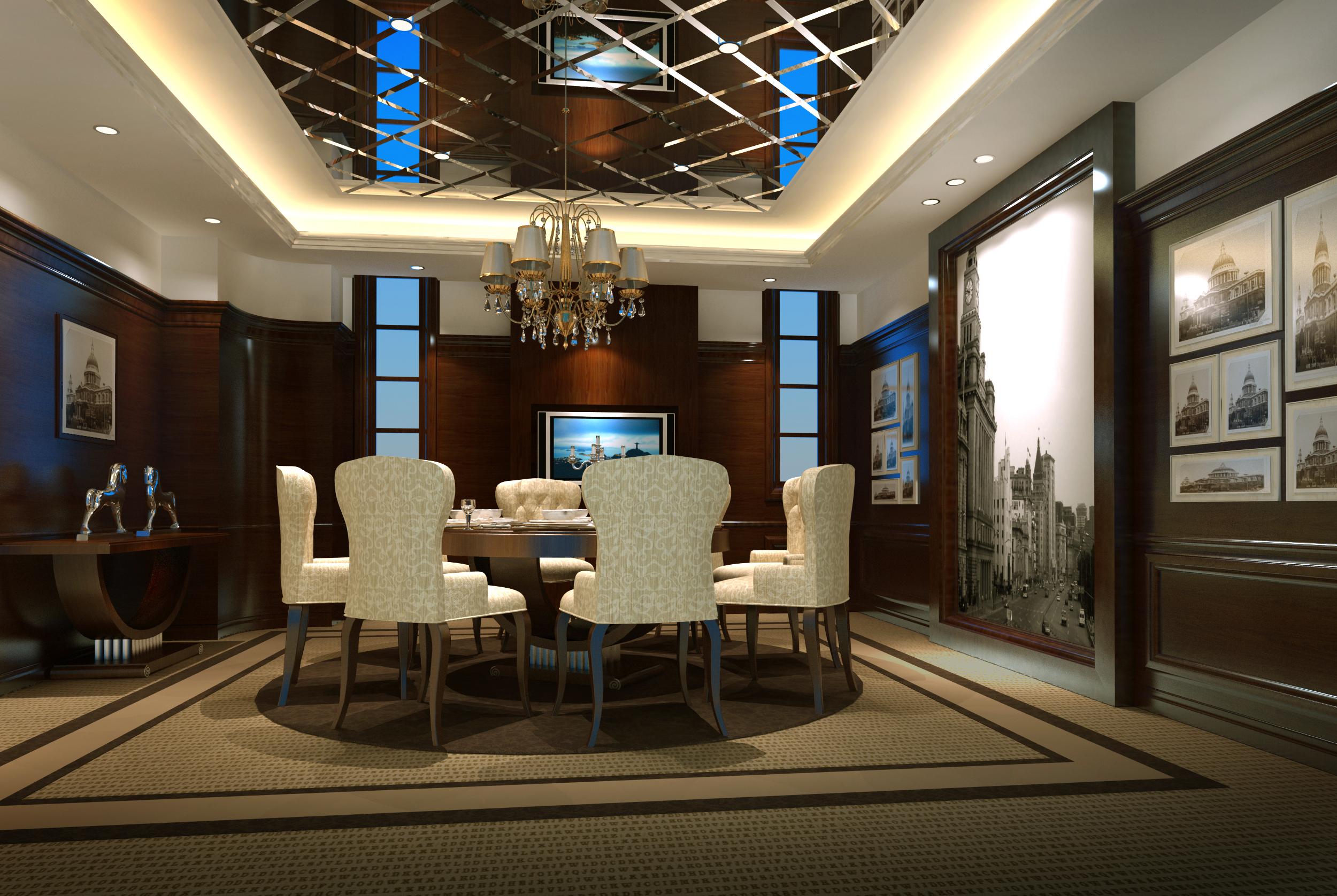 设计类-上海婚礼中心-老上海包房01