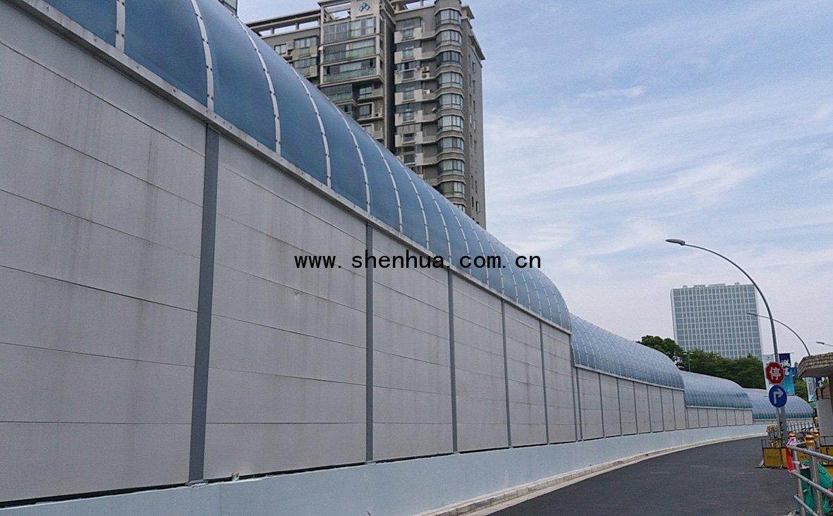 上海南北通道声屏障工程-微信?#35745;琠20190519135154