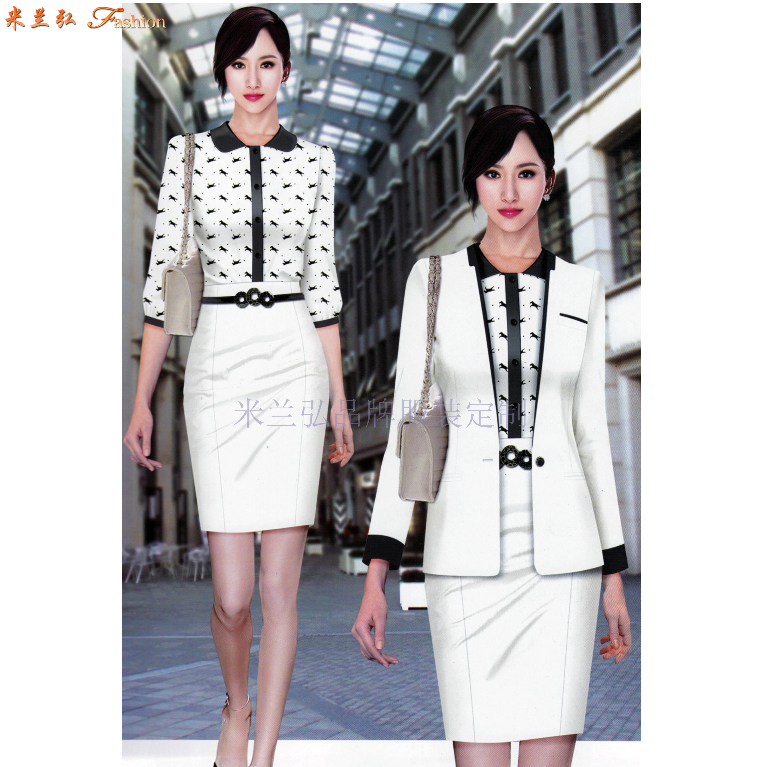 「時尚職業裝」貨真價實、式樣時髦、的服裝廠家-米蘭弘品牌-2
