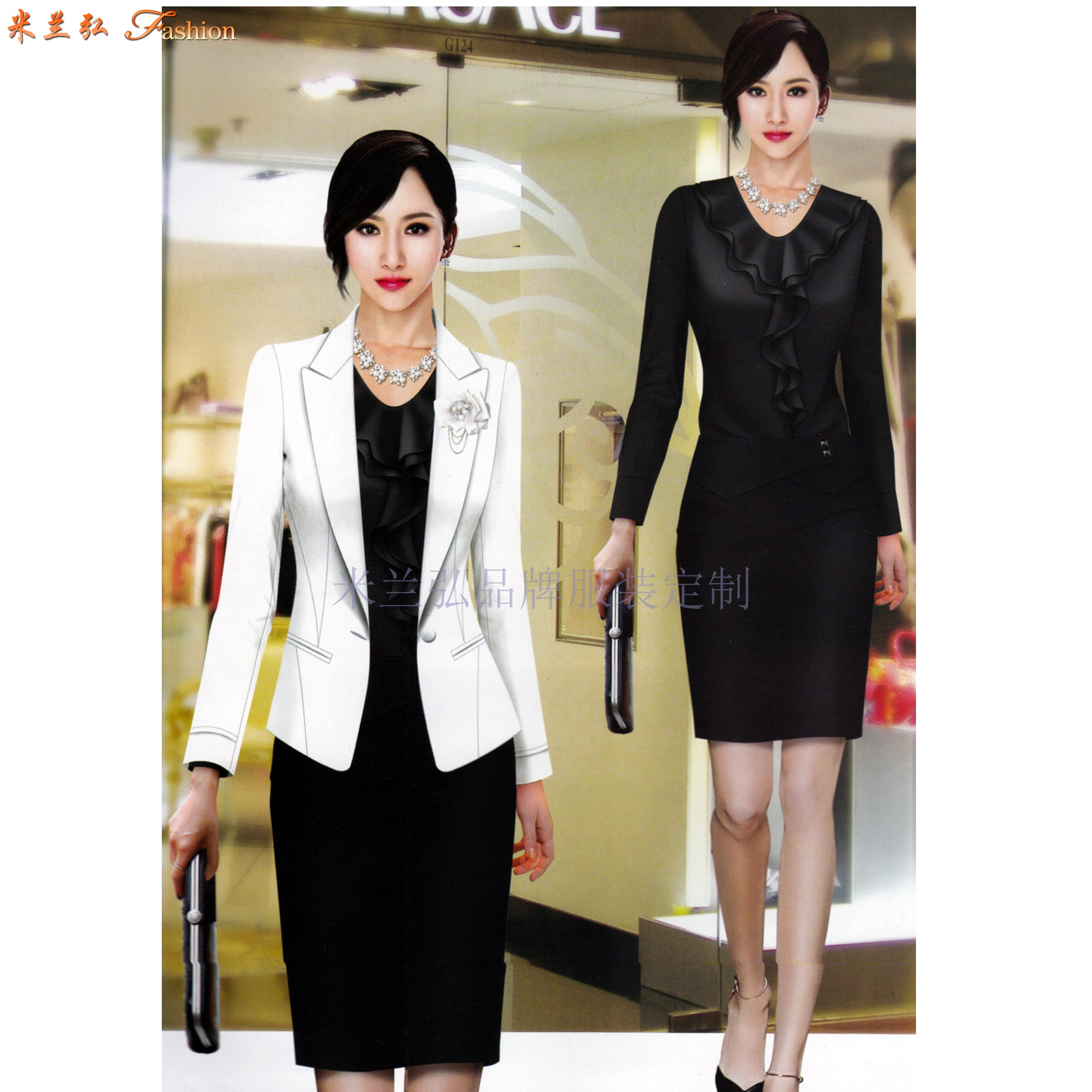「時尚職業裝」貨真價實、式樣時髦、的服裝廠家-米蘭弘品牌-3