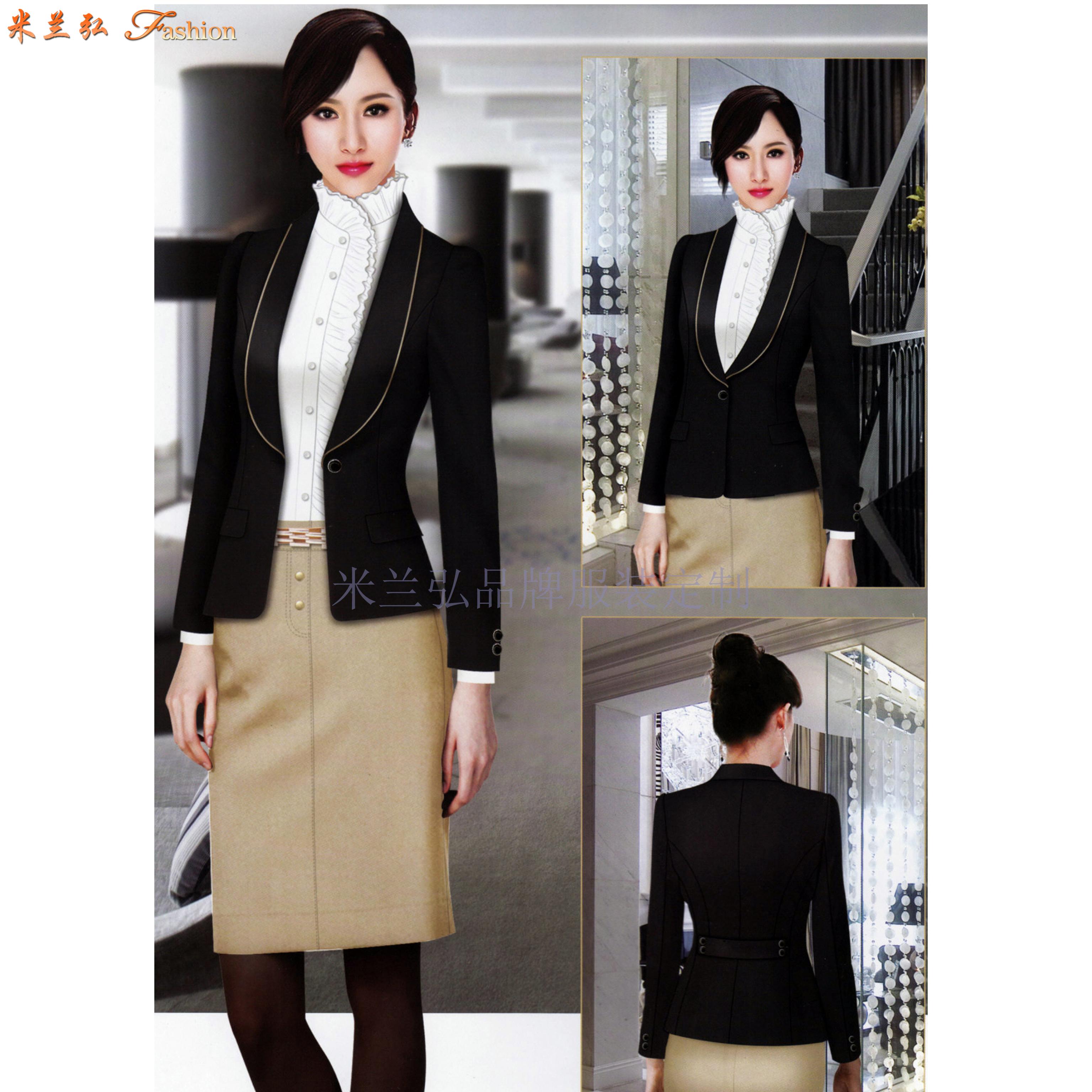 「時尚職業裝」貨真價實、式樣時髦、的服裝廠家-米蘭弘品牌-4