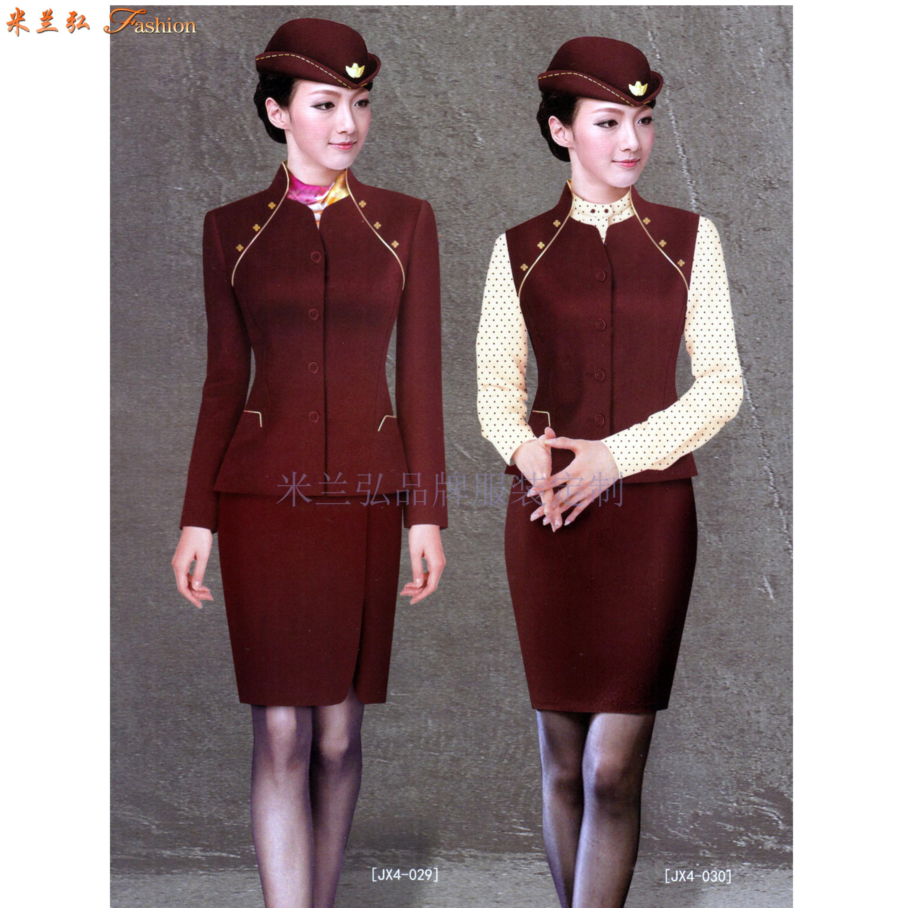 空姐服定制|圖片_價格_參數_面料_尺寸-米蘭弘服裝-3