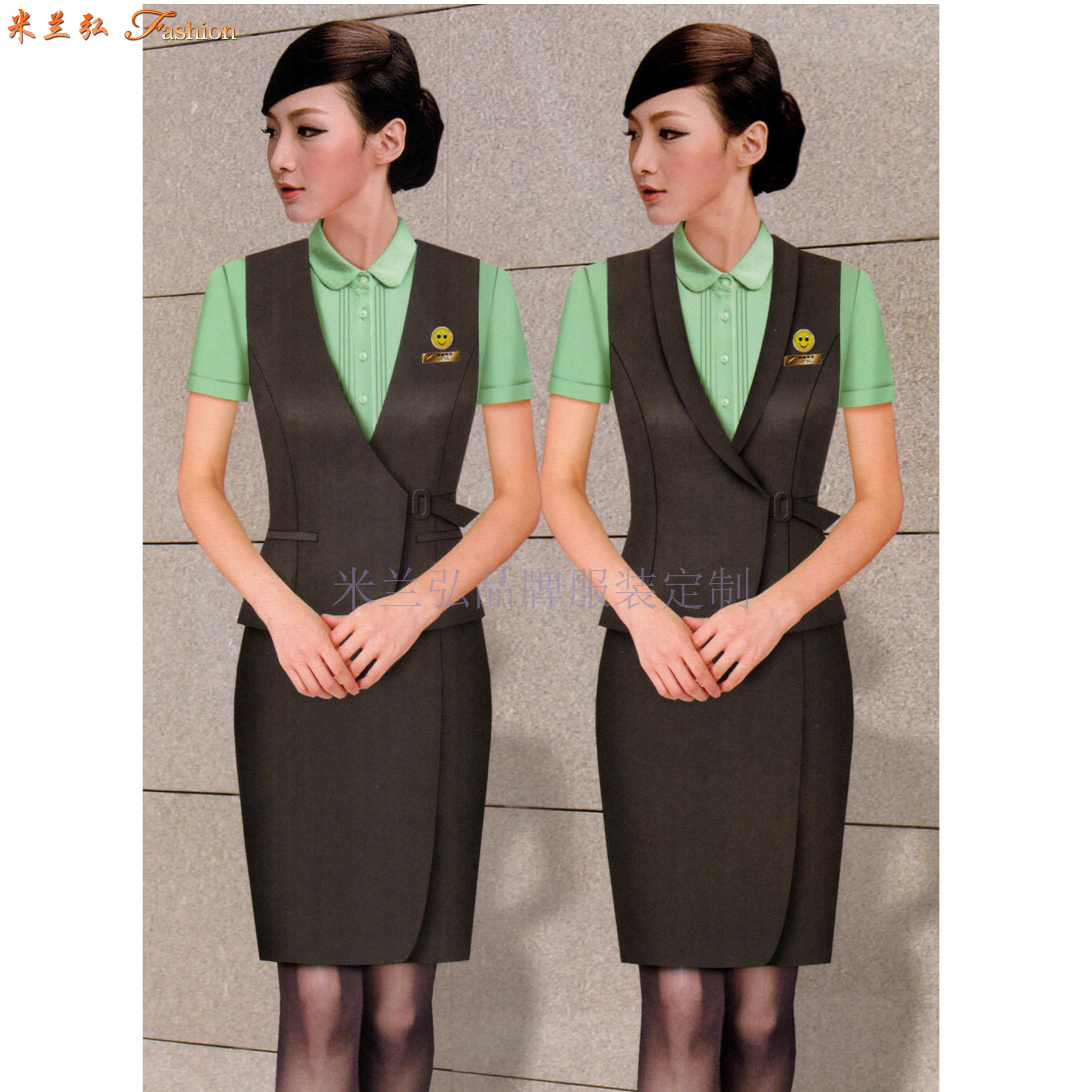空姐服定制|圖片_價格_參數_面料_尺寸-米蘭弘服裝-5