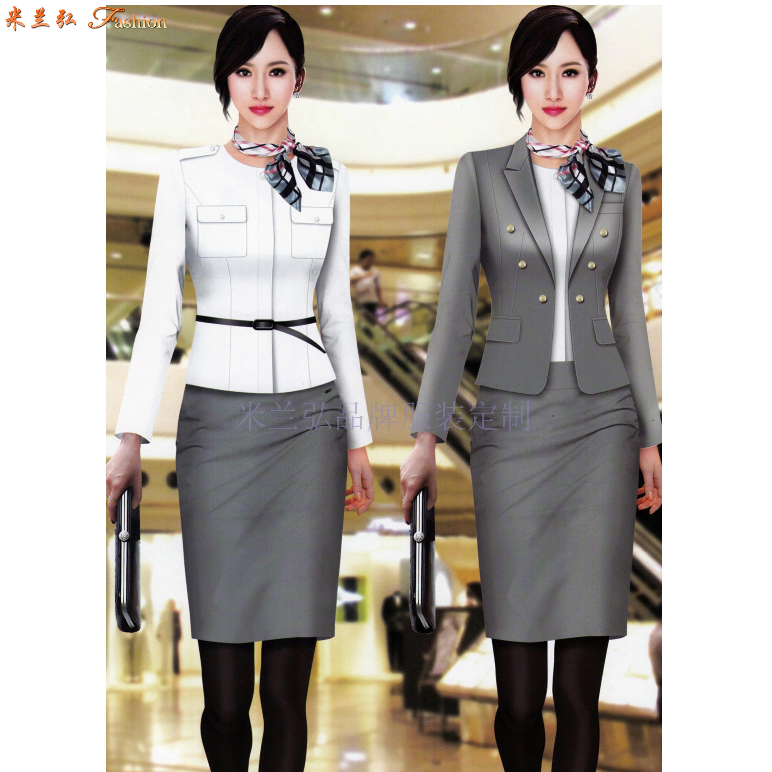 「修身女西服」采購批發市場優質女士西服價格品牌廠商_米蘭弘-1
