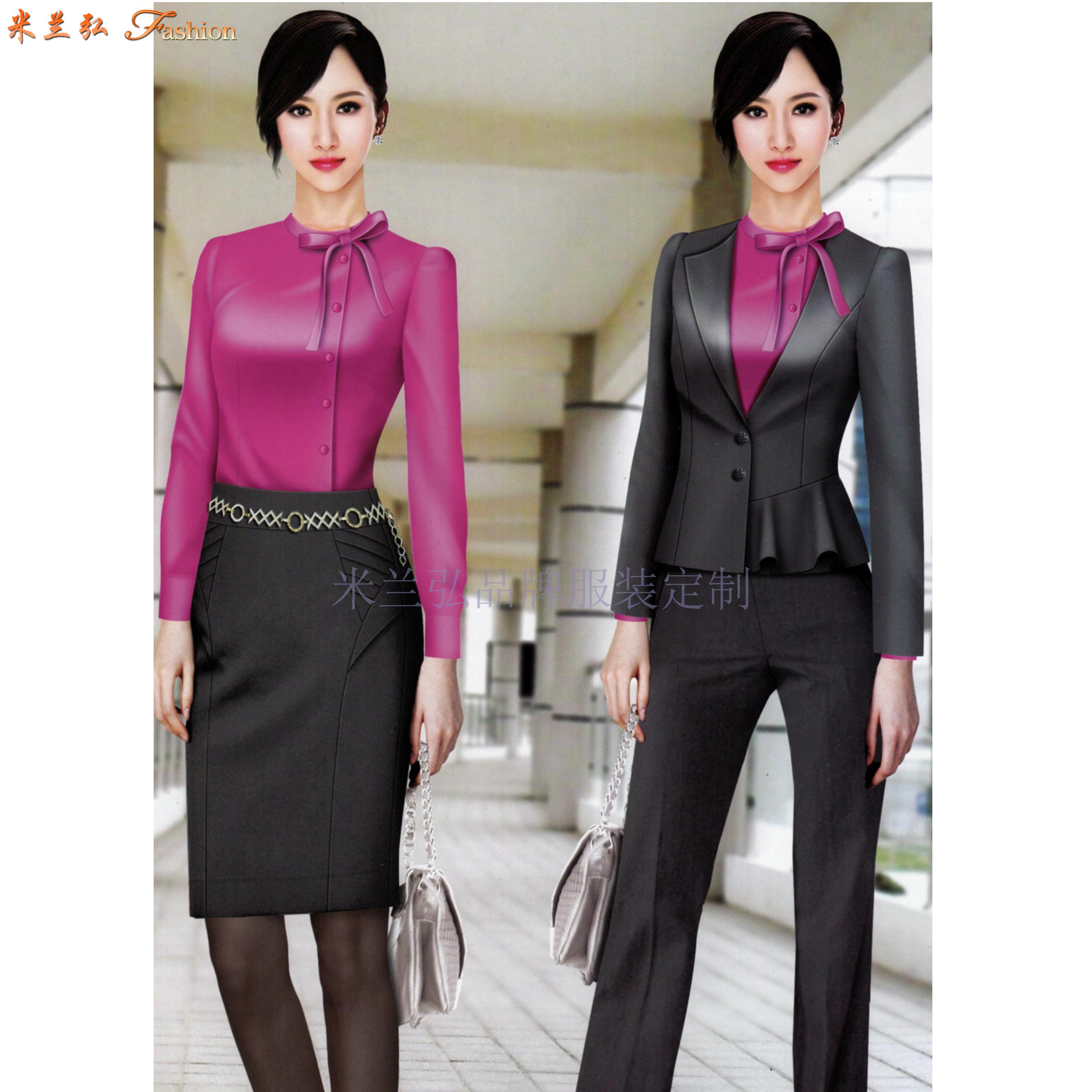 「修身女西服」采購批發市場優質女士西服價格品牌廠商_米蘭弘-2