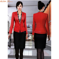 「修身女西服」采購批發市場優質女士西服價格品牌廠商_米蘭弘-4