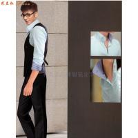 「北京西服定制圖片」男士西服搭配1外套1褲子-米蘭弘西服品牌-2