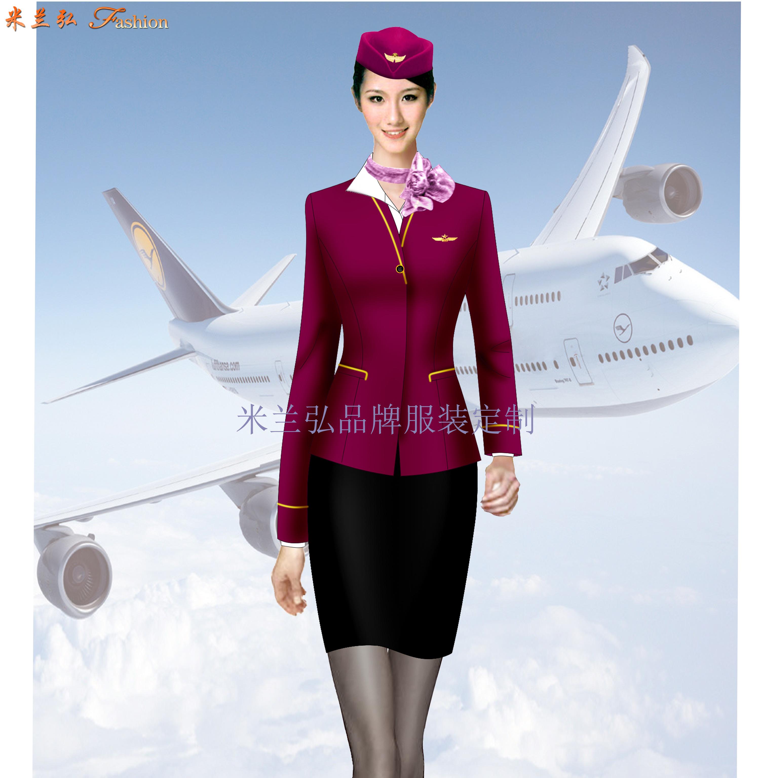 「北京空姐服定制」航空公司空姐服新款套裝圖片_價格_廠家-6