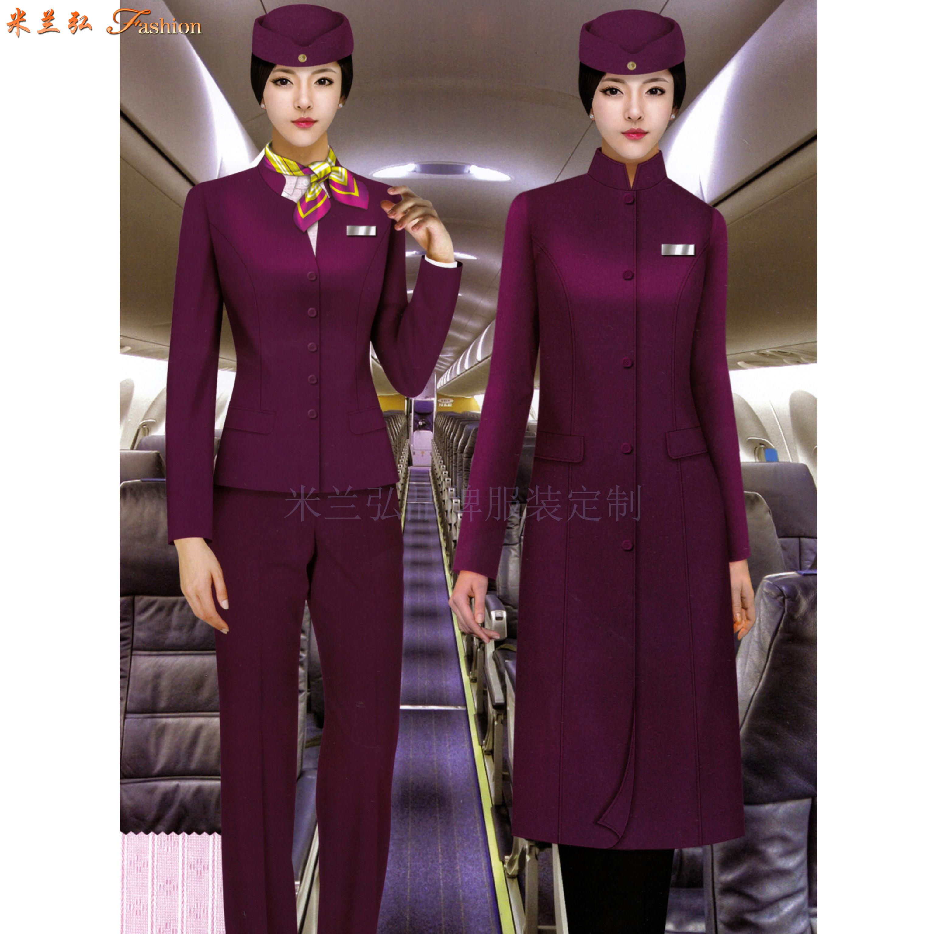 「北京空姐大衣訂制」選擇多年服裝生產經驗廠家-米蘭弘空姐服-2