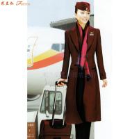 「北京空姐大衣訂制」選擇多年服裝生產經驗廠家-米蘭弘空姐服-3