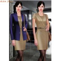 北京高端職業裝定制品牌-米蘭弘公司設計制作職業裝新款女裝圖片-2