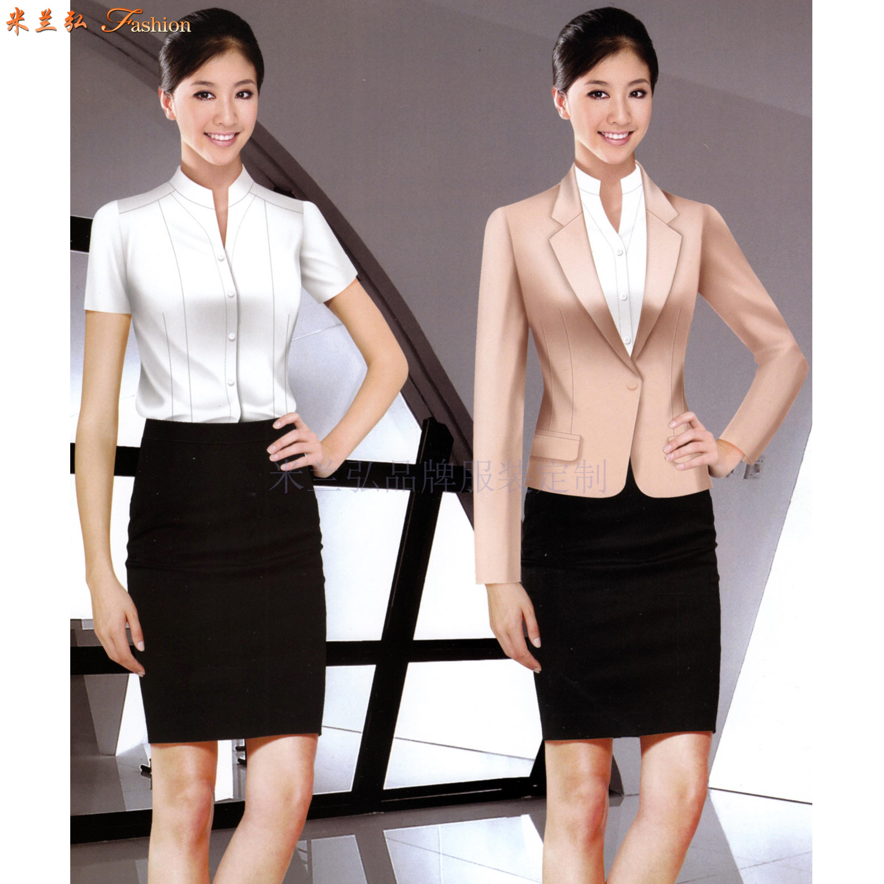 京津冀公司職業裝定制-選擇潮流時尚的正裝職業裝公司-米蘭弘-4