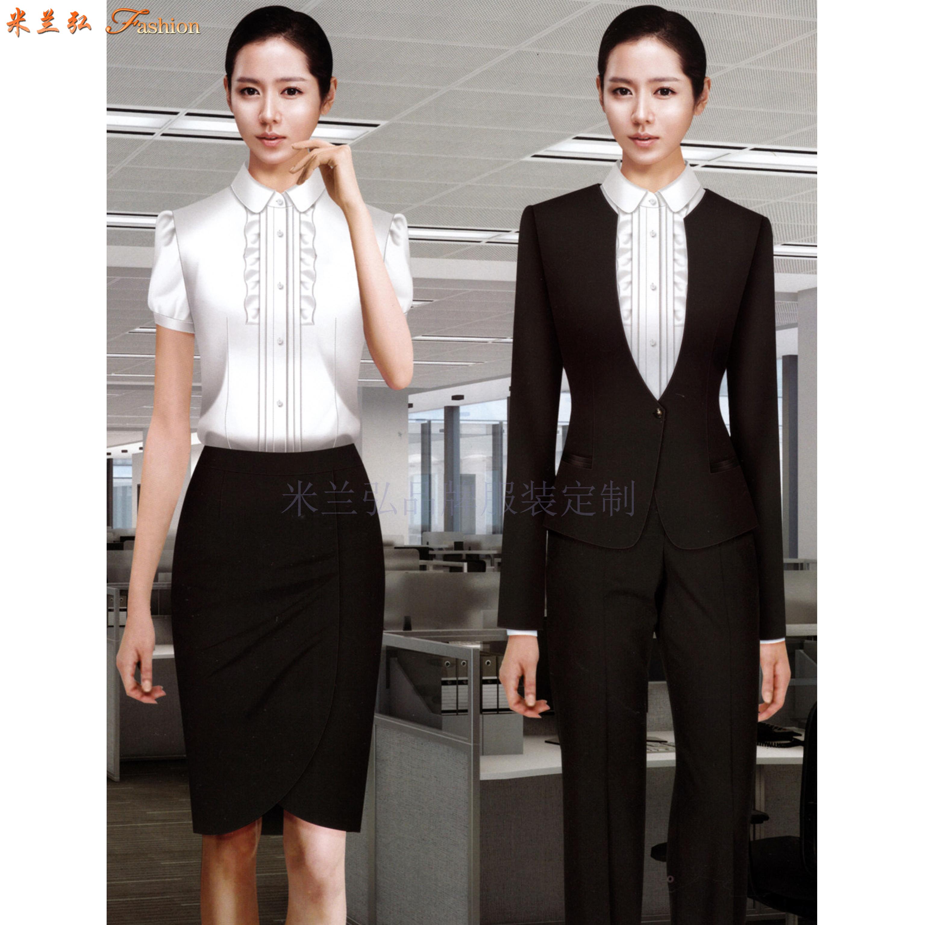 京津冀公司職業裝定制-選擇潮流時尚的正裝職業裝公司-米蘭弘-5