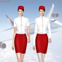 京津冀高鐵動車乘務制服定做-選擇款式時髦的服裝品牌-米蘭弘-1
