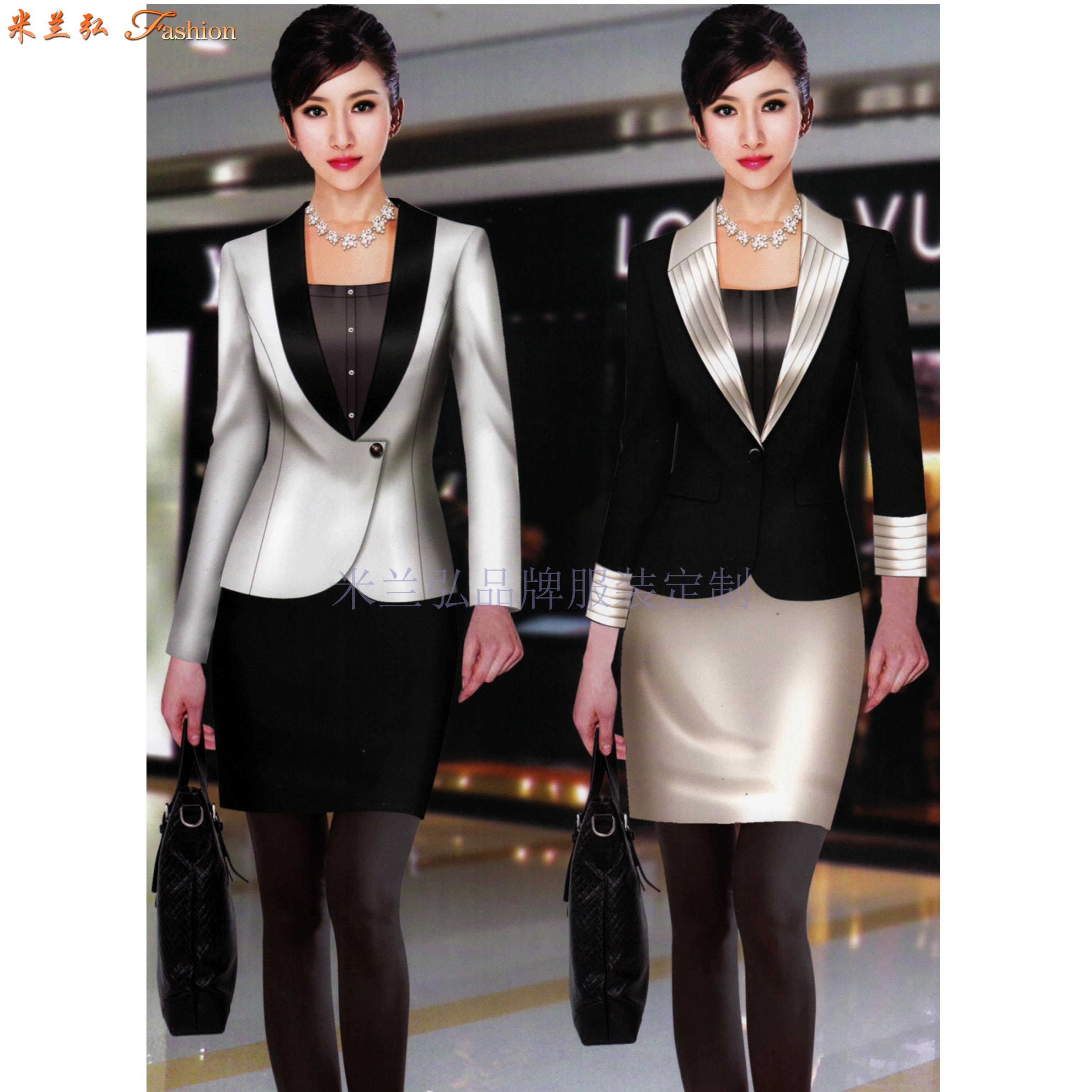 北京女士職業裝定制及北京時尚職業裝定做_北京通勤職業裝訂制-1
