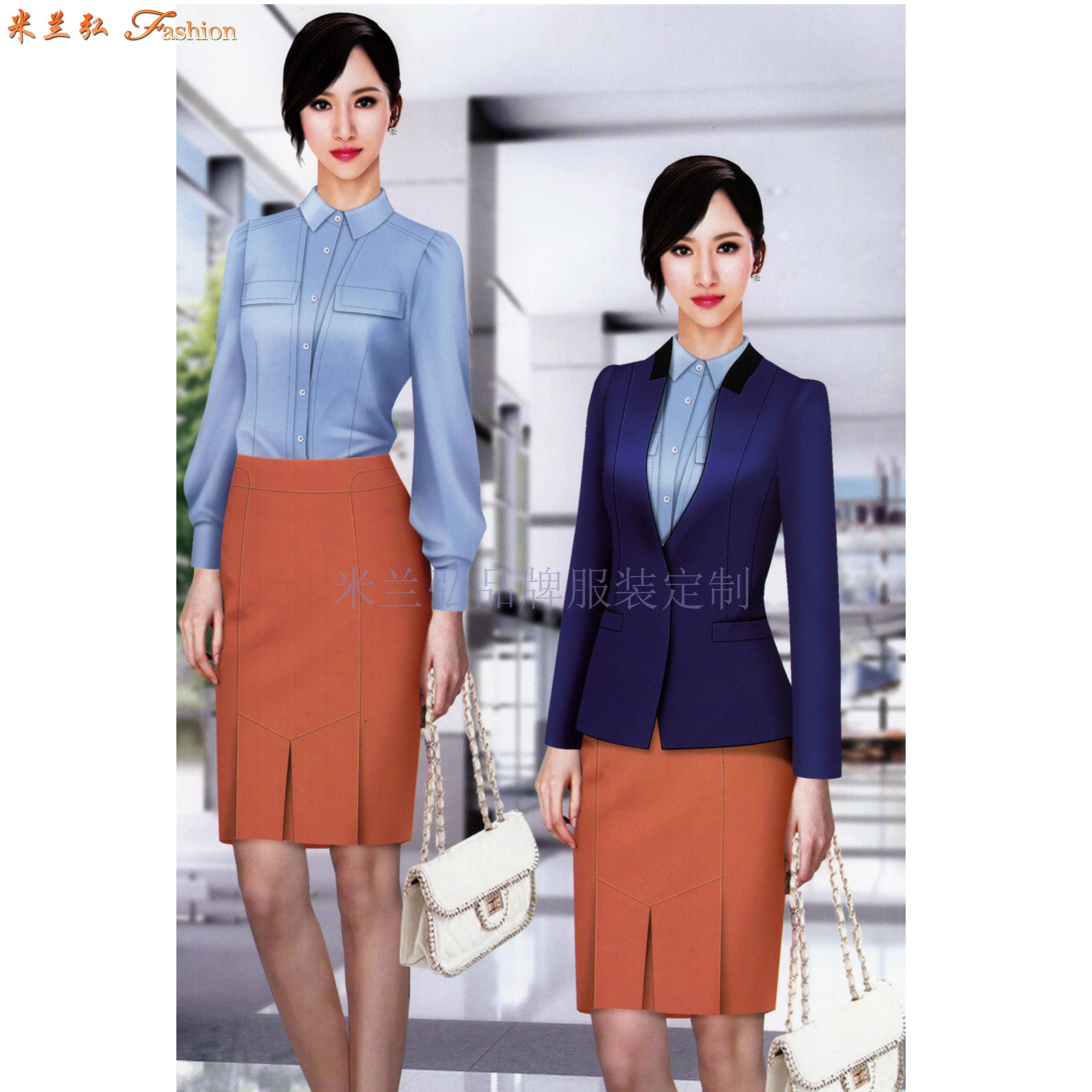 北京女士職業裝定制及北京時尚職業裝定做_北京通勤職業裝訂制-3