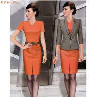2020夏季女士職業裝搭配_上班職業裝連衣裙定做_米蘭弘服裝-3