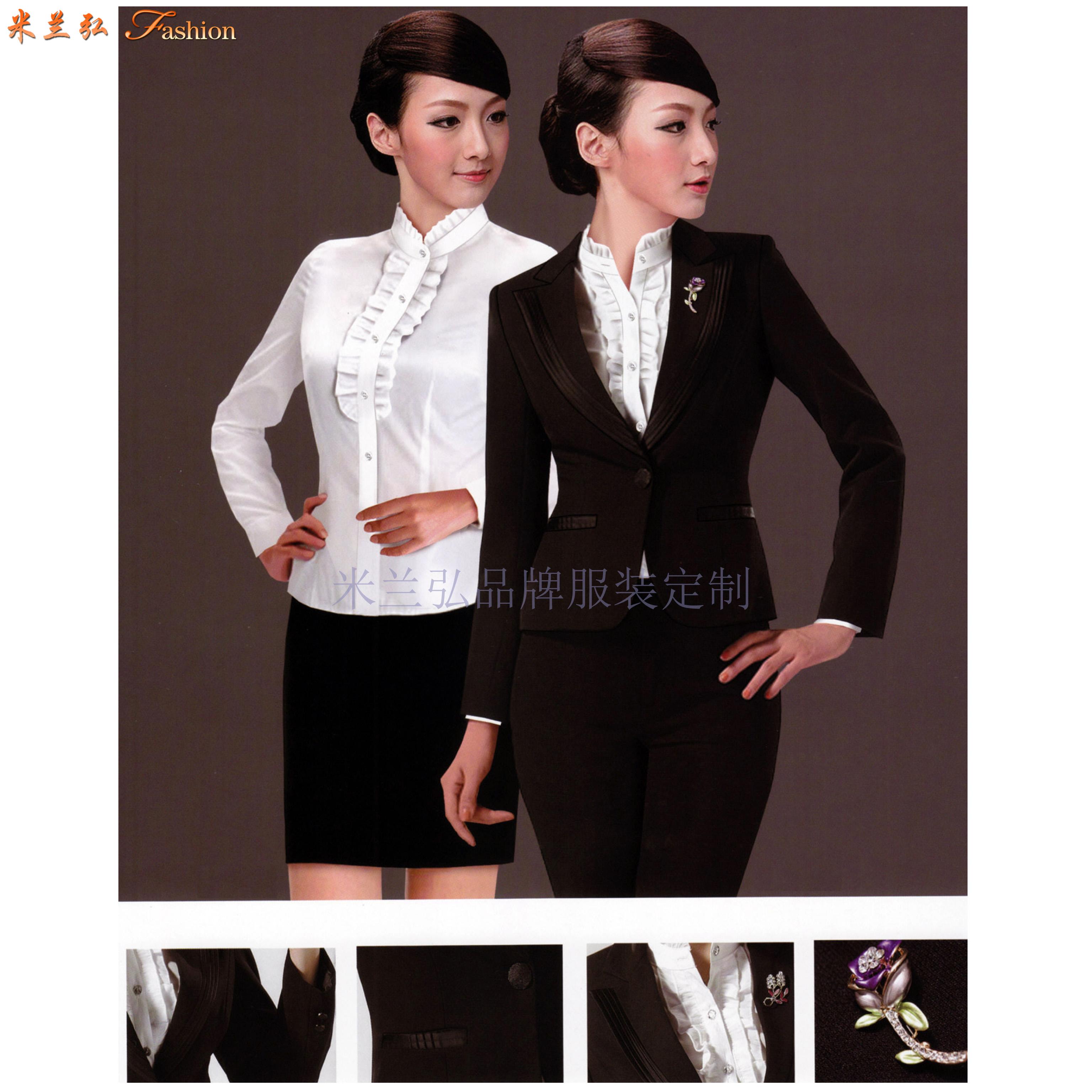 「大連定制商務西裝定做品牌西服」訂做正裝西服廠家米蘭弘👍-4