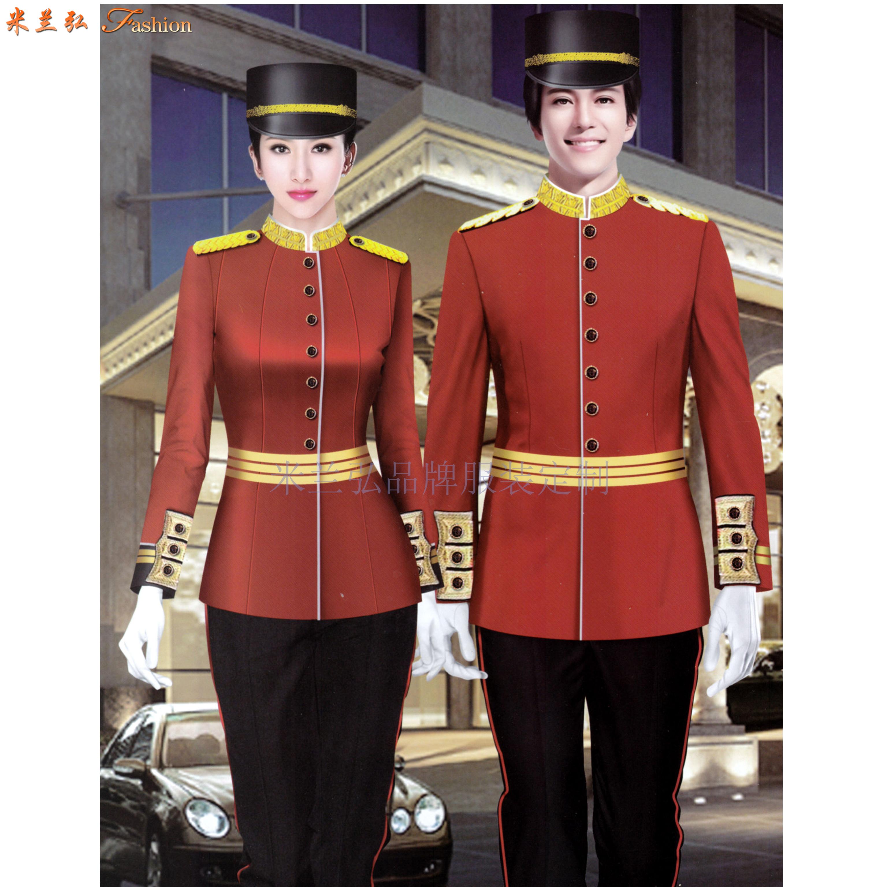 青島酒店制服定制_平度市酒店工服訂制_萊西市酒店服裝定做-1